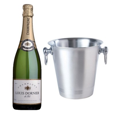 Louis Dornier and Fils Champagne 75cl With Ice Bucket Set