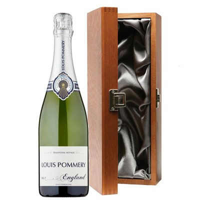 Louis Pommery 75cl Brut England in Luxury Gift Box
