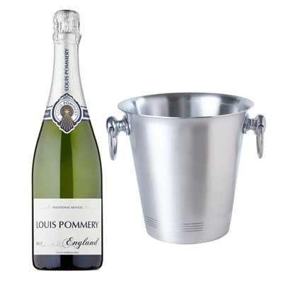 Louis Pommery 75cl Brut England With Ice Bucket Set