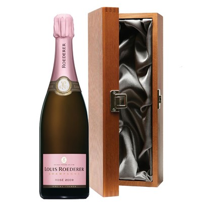 Louis Roederer 2011 Brut Rose Vintage Champagne 75cl in Luxury Gift Box