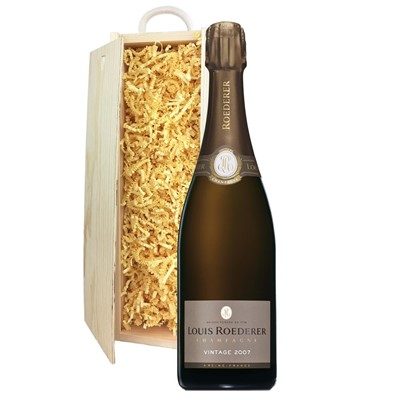 Louis Roederer 2012 Brut Vintage Champagne 75cl In Pine Gift Box
