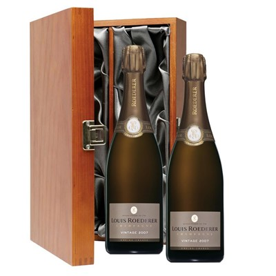Louis Roederer 2012 Brut Vintage Champagne 75cl Twin Luxury Gift Boxed (2x75cl)