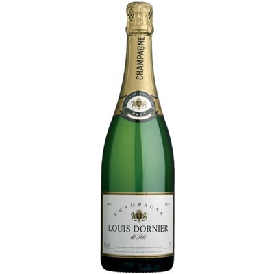 Send CLouis Dornier and Fils Champagne Bottle