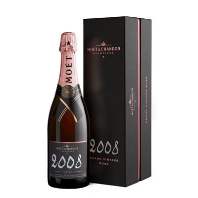 Buy a single bottle of Moet & Chandon Vintage Rose 2009 Champagne 75cl Presented in a stylish Gift Box with Gift Card for your personal message The Pink Champagne from Moet & Chandon. . Price includes free UK Mainland Delivery, and Exports and international delivery available.