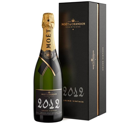 Buy Vintage Champagne a single bottle of Moet And Chandon Brut Vintage 2012 Champagne 75cl