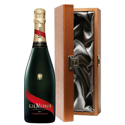 Mumm Cordon Rouge Champagne 75cl in Luxury Gift Box