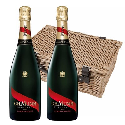 Mumm Cordon Rouge Champagne 75cl Twin Hamper (2x75cl)