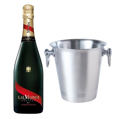 Mumm Cordon Rouge Champagne 75cl With Ice Bucket Set