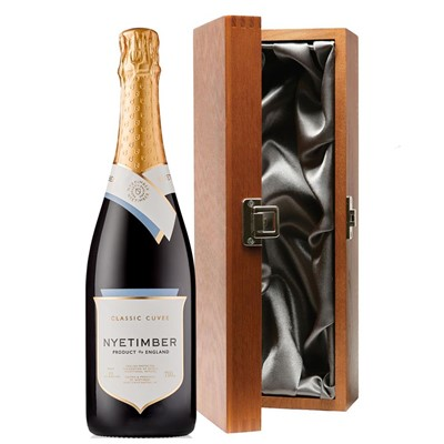 Nyetimber Classic Cuvee English Sparkling Wine 75cl in Luxury Gift Box