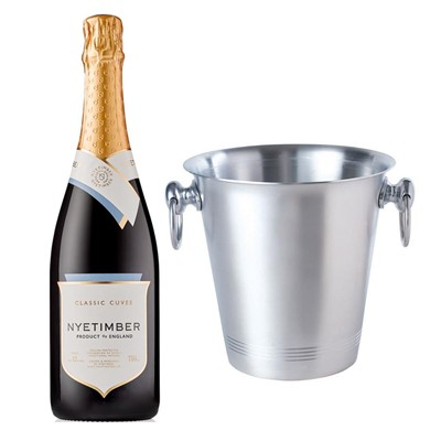 Nyetimber Classic Cuvee English Sparkling Wine 75cl With Ice Bucket Set