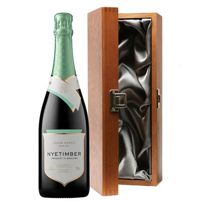 Nyetimber Demi-Sec English Sparkling Wine 75cl in Luxury Gift Box