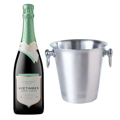 Nyetimber Demi-Sec English Sparkling Wine 75cl With Ice Bucket Set