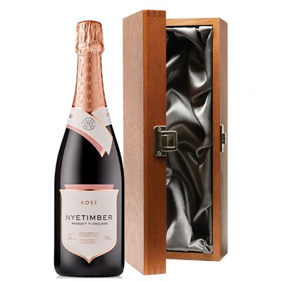 Nyetimber Rose English Sparkling Wine 75cl in Luxury Gift Box