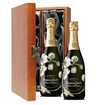 Perrier Jouet Belle Epoque Brut 2011 Vintage Champagne 75cl Twin Luxury Gift Boxed (2x75cl)
