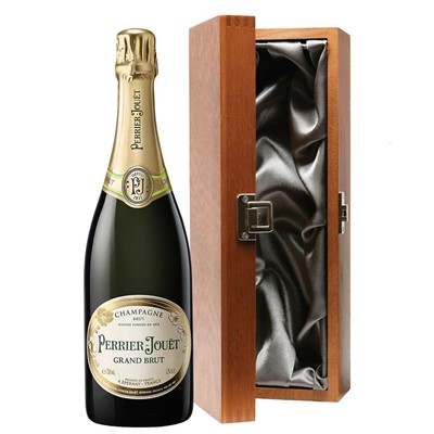 Perrier Jouet Grand Brut Champagne 75cl in Luxury Gift Box