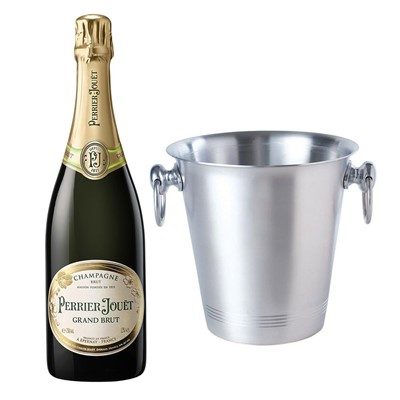 Perrier Jouet Grand Brut Champagne 75cl With Ice Bucket Set