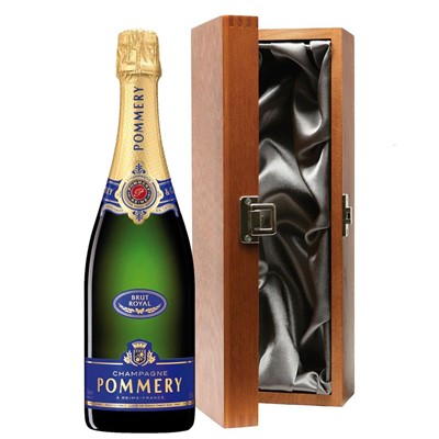 Pommery Brut Royal Champagne 75cl in Luxury Gift Box