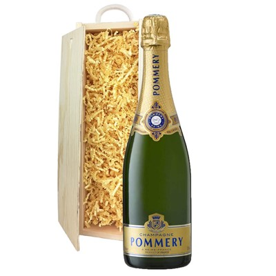 Pommery Grand Cru Vintage Champagne 75cl In Pine Gift Box