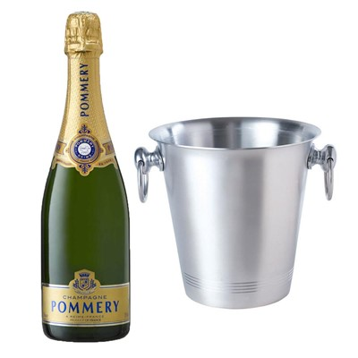 Pommery Grand Cru Vintage Champagne 75cl With Ice Bucket Set