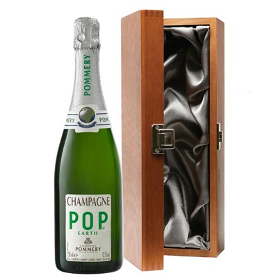 Pommery Pop Earth Champagne 75cl in Luxury Gift Box