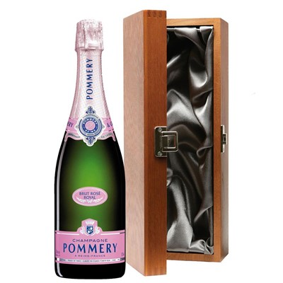 Pommery Rose Brut Champagne 75cl in Luxury Gift Box