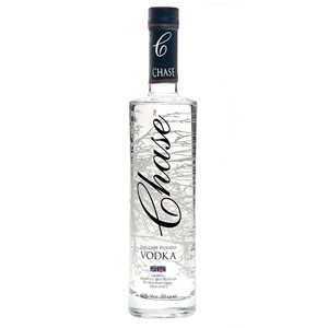 Chase Vodka  English Vodka  Chase Vodka  the first UK produced Vodka. Chase is a superb potato vodka from the people who brought us Tyrrell's lovely crisps. Fabulously creamy and smooth  serve straight from the fridge for best effects. San Francisco World Spirits Competition 2010: Best Vodka in the World; Double Gold Medal . Price includes free UK Mainland Delivery, and Exports and international delivery available.