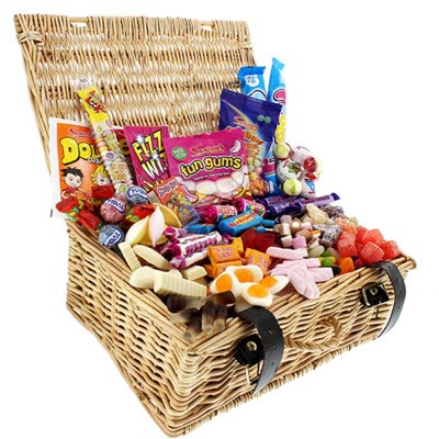 Our classic original retro sweet hamper is packed with all of your childhood memories and makes the perfect gift or selfish sweetie treat for you! . Price includes free UK Mainland Delivery, and Exports and international delivery available.