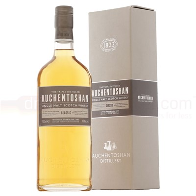 Buy 70cl. Auchetoshan whisky is a lowland malt with a sweet and delicate flavour . Price includes free UK Mainland Delivery, and Exports and international delivery available.