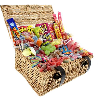 Sour Surprise Retro Sweet Hamper. Price includes free UK Mainland Delivery, and Exports and international delivery available.