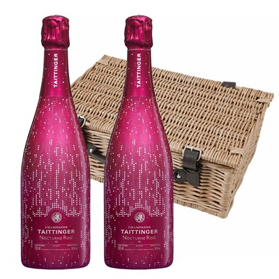 Taittinger Nocturne Rose City Lights Edition Twin Hamper (2x75cl)