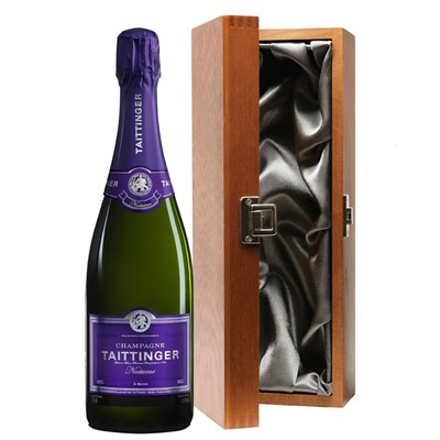Taittinger Nocturne Sec Champagne 75cl in Luxury Gift Box