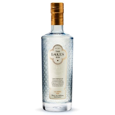 The Lakes Gin Big, clear fresh citrus, fruity and floral. Complex and vibrant.  To fully appreciate the flavours of The Lakes Gin we recommend chilling in a fridge freezer, and pouring over a cube or two of ice.