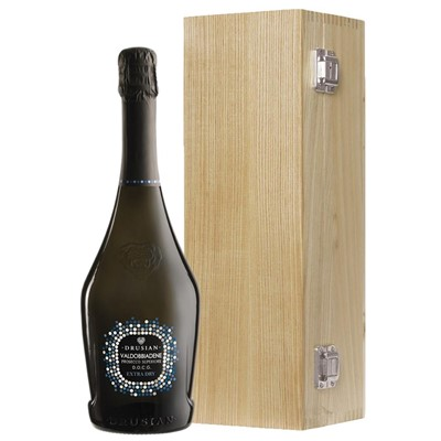 Valdobbiadene Superiore D.O.C.G. Spumante Prosecco 75cl Oak Luxury Gift Boxed