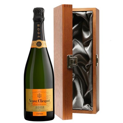 Veuve Clicquot 2008 Brut Vintage Champagne 75cl in Luxury Gift Box
