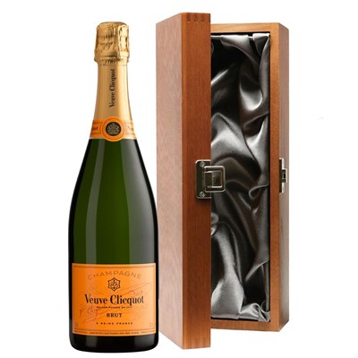 Veuve Clicquot Brut Champagne 75cl in Luxury Gift Box