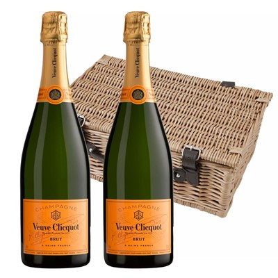 Veuve Clicquot Brut Champagne 75cl Twin Hamper (2x75cl)