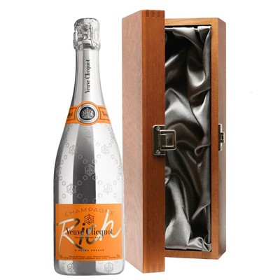 Veuve Clicquot Rich Champagne 75cl in Luxury Gift Box
