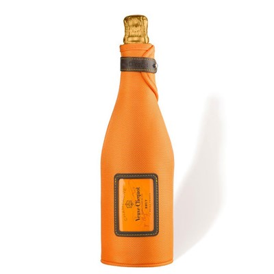 Send a single bottle of Veuve Clicquot Yellow Label, NV, Champagne in Ice Jacket (75cl)Presented in a stylish Blue Gift Box with matching Gift Card for your personal message - This is a classically-styled Champagne, dry, balanced and elegant. The Ice Jacket will keep the bottle cool for up to 2 hours. ,Veuve Clicquot Brut in Ice Jacket 75cl