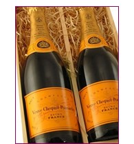 Buy Two x 75cl bottles of Veuve Clicquot Brut NV Champagne supplied in a wooden timber case lined with wood wool. Available for UK mainland delivery only Export delivery price available on request . Price includes free UK Mainland Delivery, and Exports and international delivery available.