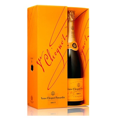 Special Offer Price, Buy Send a single bottle of Veuve Clicquot Yellow Label NV Champagne (75cl)Presented in a stylish Gift Box with Gift Card for your personal message  This is a classically styled Champagne dry balanced and elegant. . Price includes free UK Mainland Delivery, and Exports and international delivery available.