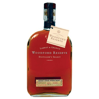 Woodford Reserve Bourbon  Woodford Reserve is a super premium small batch bourbon with roots at the Labrot & Graham Distillery circa 1812 a National Historic Landmark in the bluegrass region of central Kentucky. Over 200 years of bourbon knowledge has gone into the making of this award winning spirit. Labrot & Graham Woodford Reserve Distiller's Select is a superbly smooth flavoursome bourbon rich and full bodied with a sophisticated range of flavours from Kentucky's oldest distillery.  . Price includes free UK Mainland Delivery, and Exports and international delivery available.