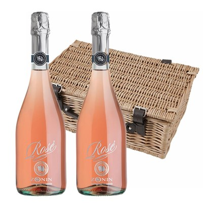 Zonin Sparkling Rose 75cl Twin Hamper (2x75cl)